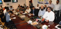 Min Petroleum announcing RLNG supply to Punjab CNG station